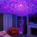 Laser Light Projector Galaxy Star Projector Nebula for Bedroom Adults Starry Night Light Projector for Ceiling Ocean Wave LED with Hi-Fi Bluetooth Speaker for Game Rooms/Home Theatre/Remote Control - Elecstars Capturing Stars in the Dream
