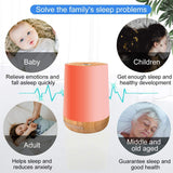 White Noise Sound Machine for Sleeping Adults Baby Nursery Pink Noise Sound Machine with Night Light for Sleep & Relaxation 28 Soothing Nature Sound Timer Portable Travel USB Rechargeable Holiday Gift… - Elecstars Capturing Stars in the Dream