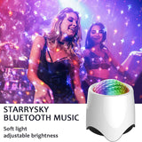 Elecstars Bluetooth Night Light Speaker, Star Projector with Built in Soft Music, Remote Control & Auto Off Timer, Colorful Bedside Lamp, Ideal Gift Choice for Party/Kids/Room - Elecstars Capturing Stars in the Dream