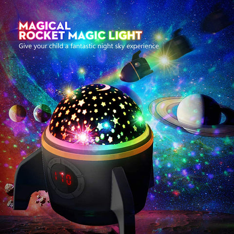 2020 Baby Night Light Star Projector Black for Bedroom with Timer Remote and Chargeable - Elecstars Capturing Stars in the Dream