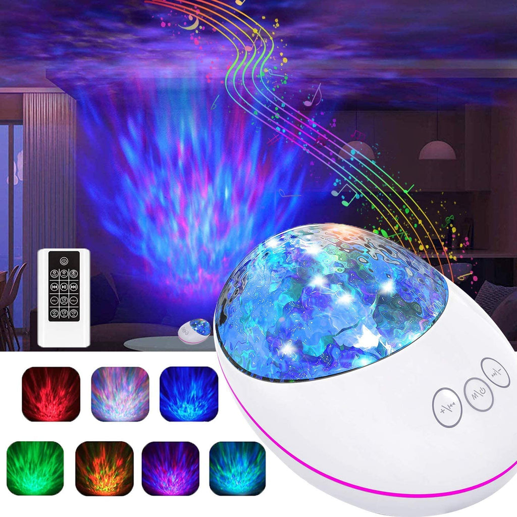 Night Light for Kids,Sky Light Projector with Bluetooth Speaker,Bedside lamp LED Light,Music Player, Ocean Wave Projection,Timer & Remote Control Galaxy Light for Baby Gift for Adults Girl Boy - Elecstars Capturing Stars in the Dream