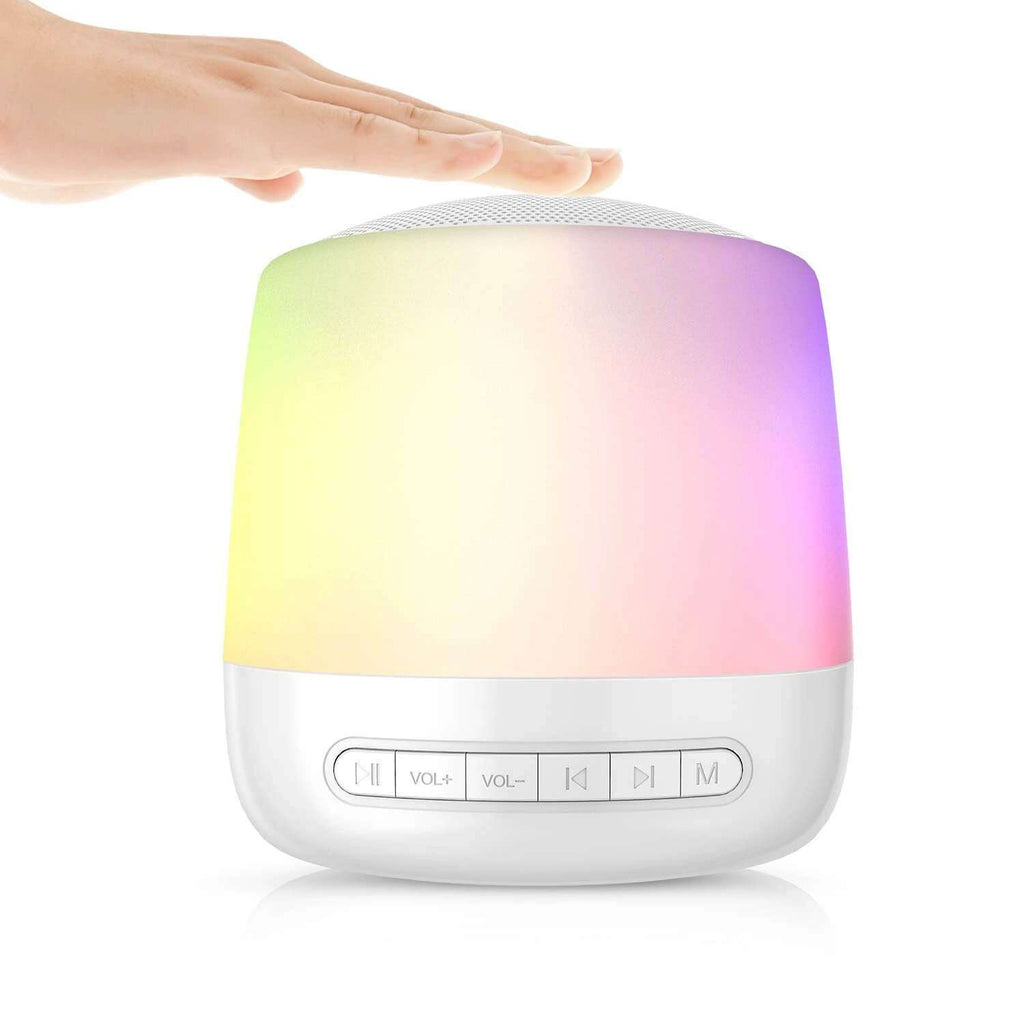Baby Rest Sound Machine With Lights White Noise Machine Touch Control Mood for Sleeping - Elecstars.com