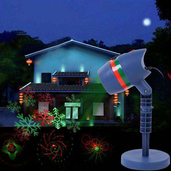 Star Shower Motion Laser Light Projector Snowfall Led Outdoor landscape Christmas Party - Elecstars Capturing Stars in the Dream