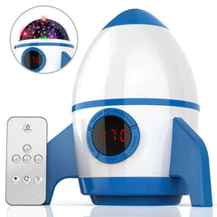 2019 Toddler Night Light Star Projector Blue for Bedroom with Timer Remote and Chargeable - Elecstars Capturing Stars in the Dream