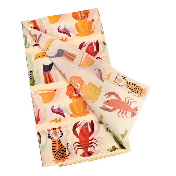 Colourful Creatures tissue paper