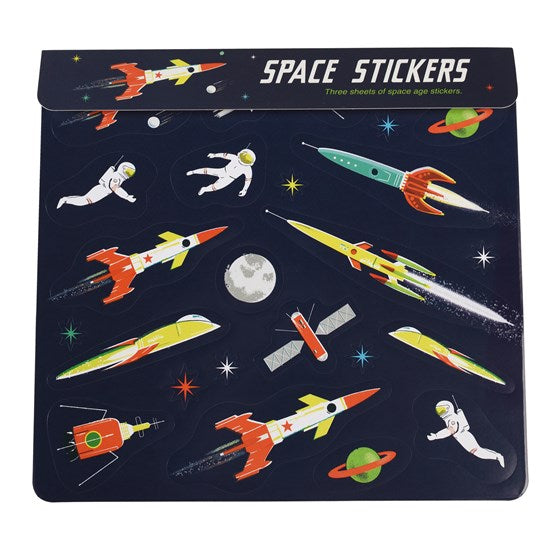 SPACE AGE Stickers
