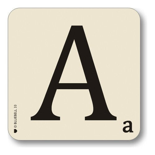 A-Z Initial Coasters