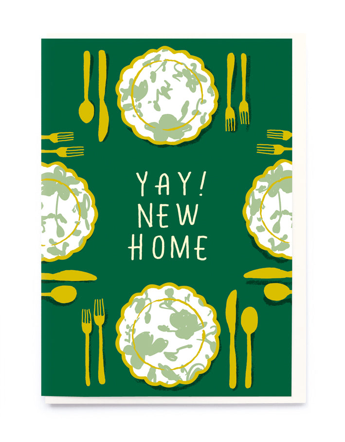 YAY! New Home card