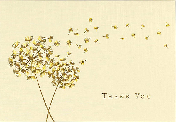 Peter Pauper Press Dandelion Wishes Folded Note Cards (Pack of 14)