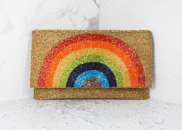 Detailed RAINBOW BAG my Doris