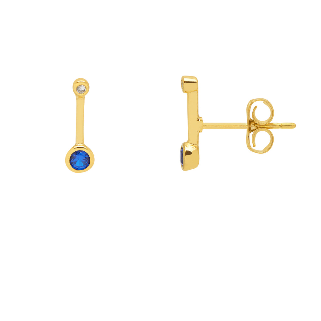 Estella Bartlett Memphis line earrings - Gold