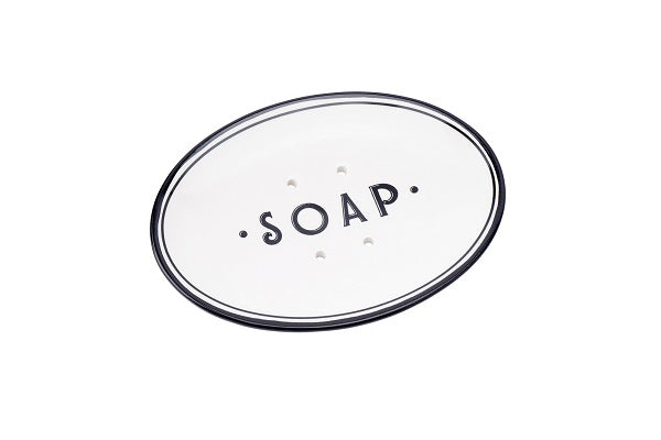 Raised soap dish