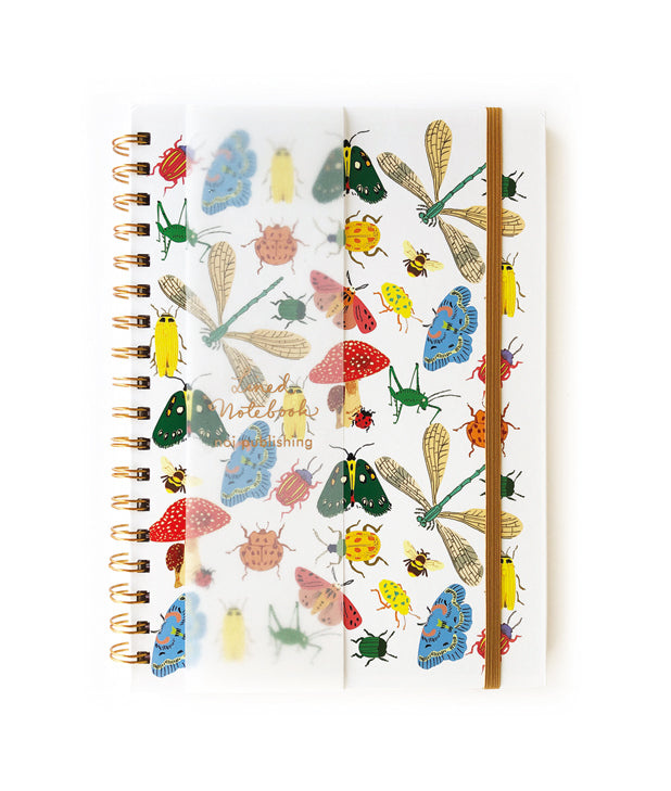 Bug collection hard cover notebook