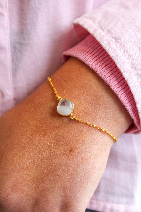 RAINBOW MOONSTONE BRACELET My Doris