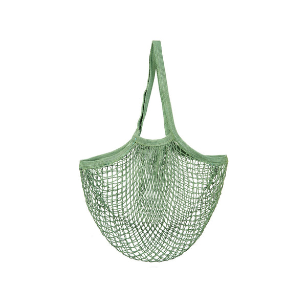 OLIVE GREEN STRING SHOPPER