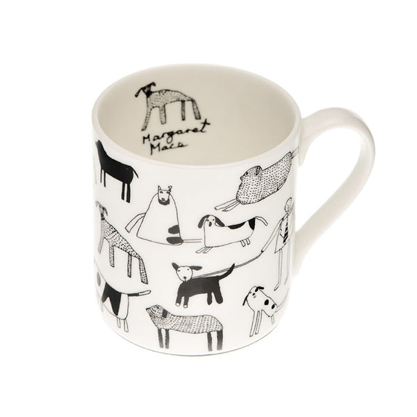 Arthouse Dogs Fine Bone China Mug