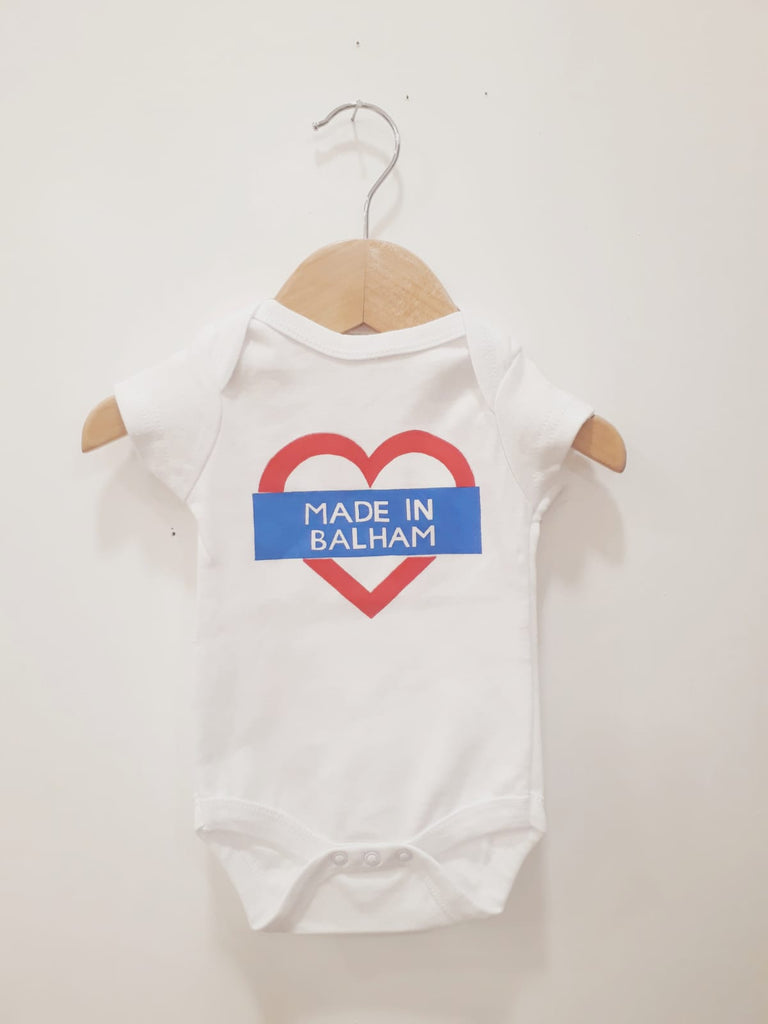 'Made in Balham' Babygrow 3-6 Months