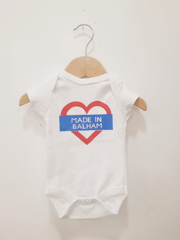 'Made in Balham' Babygrow 0-3 Months