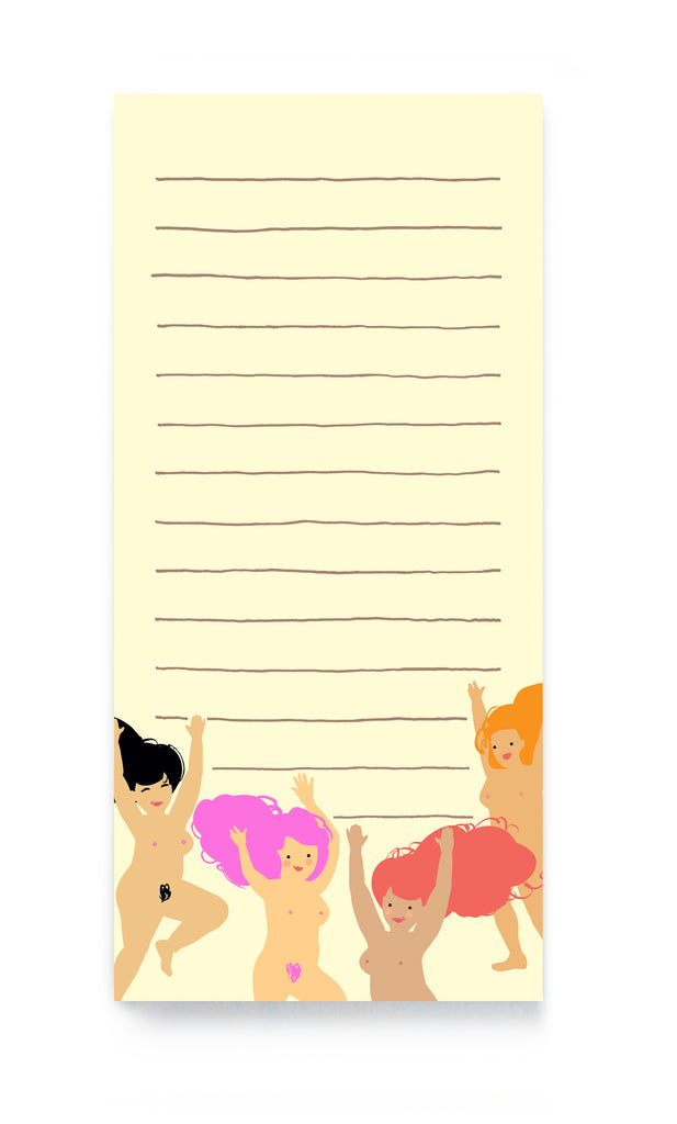 Nudies magnetic notepad