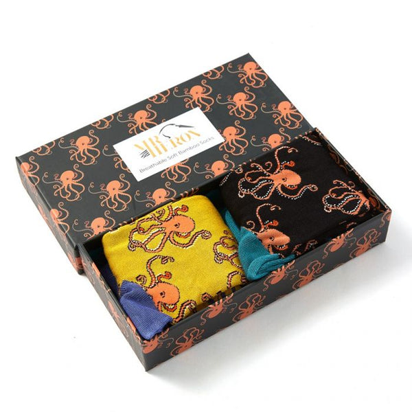 Mr Heron Octopus Socks Box