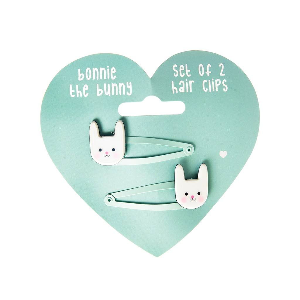 Bonnie the Bunny Hairclips (Set of 2)
