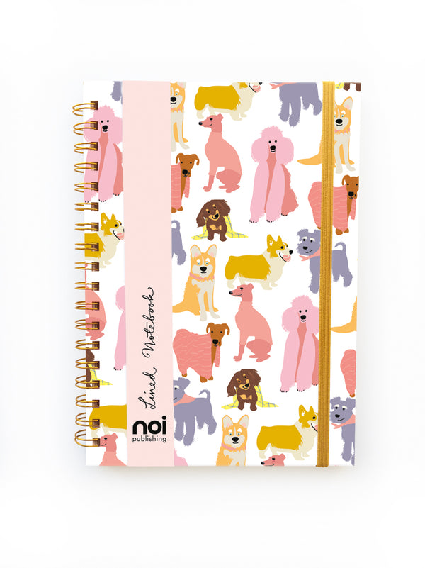 LOVING DOGS WIRO NOTEBOOK