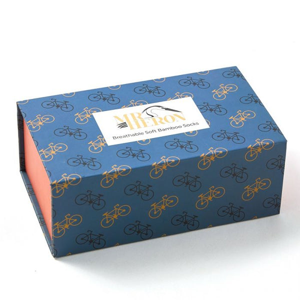 Mr Heron Little Bikes Socks Box