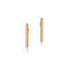 Matthew Calvin Thin Wire Studs - 9ct Gold