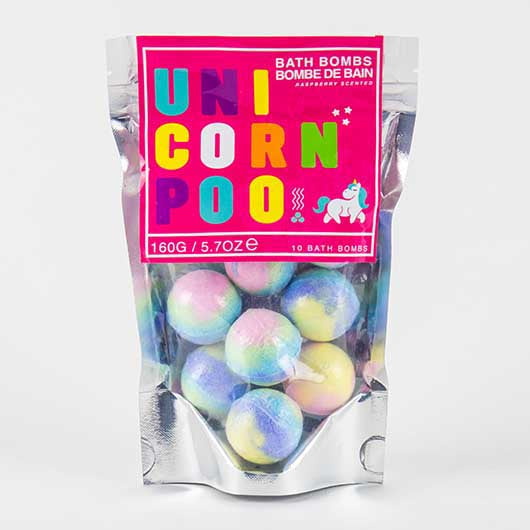Unicorn Poo - bath bombs