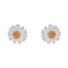 Estella Bartlett Wildflower Studs - Silver