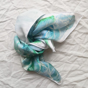 Viscose shawl - Swim