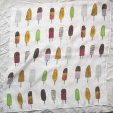 Viscose shawl - Ice cream