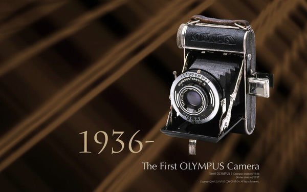 Olympus 100 Years Old in October 2019