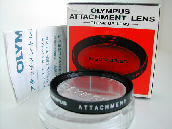 Used 43.5mm Olympus Close Up f=30cm Boxed
