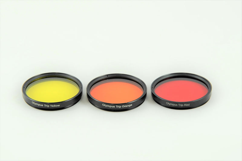 Red/Orange/Yellow 43.5mm filters for B&W - NEW