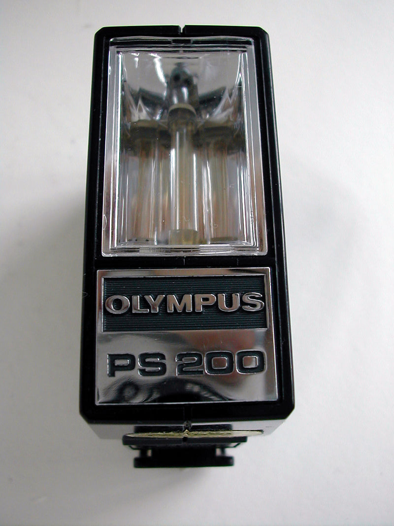 Olympus PS 200 Flash Gun and original soft pouch