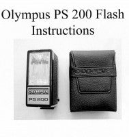 Olympus PS 200 Flash Instructions - Trip Man version