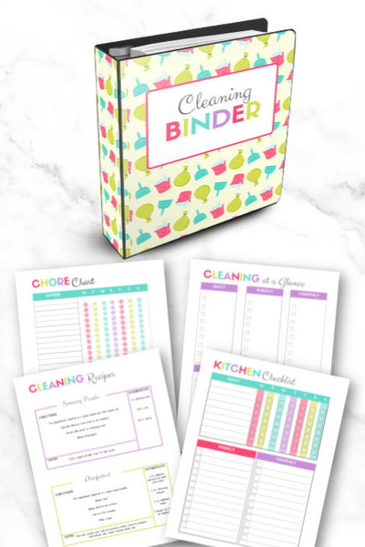 Cleaning Binder (30 pages)
