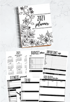 Printable Home Organization Binder for 2020-2021 | 85 Binder Printables to Help You Get Organized