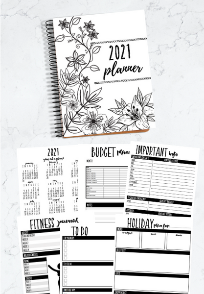 Printable Home Organization Binder for 2021 | 85 Binder Printables to Help You Get Organized