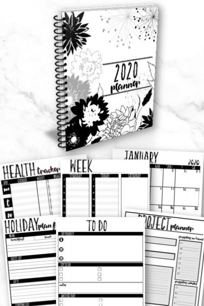 Printable Home Organization Binder for 2020 | 100 Binder Printables to Help You Get Organized