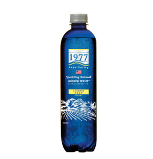 1977 Sparkling Natural Mineral Water Lemon Zest Flavor 500mL PET bottle