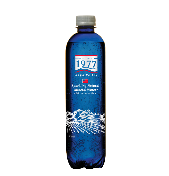 1977 Sparkling Natural Mineral Water 500mL PET bottle