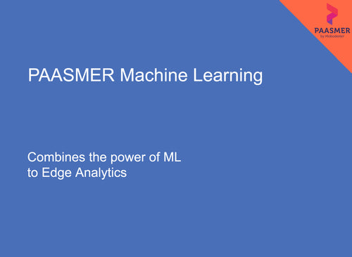 PAASMER Machine Learning