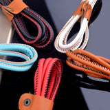 Micro USB Leather Braided Cable