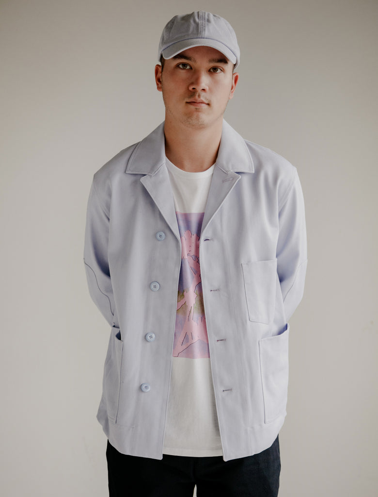 3b5ee7b6ff5 Acne Studios. Media Twill Licac Jacket Available in store only. Acne Studios.  Carliy Twill Lilac Cap ...