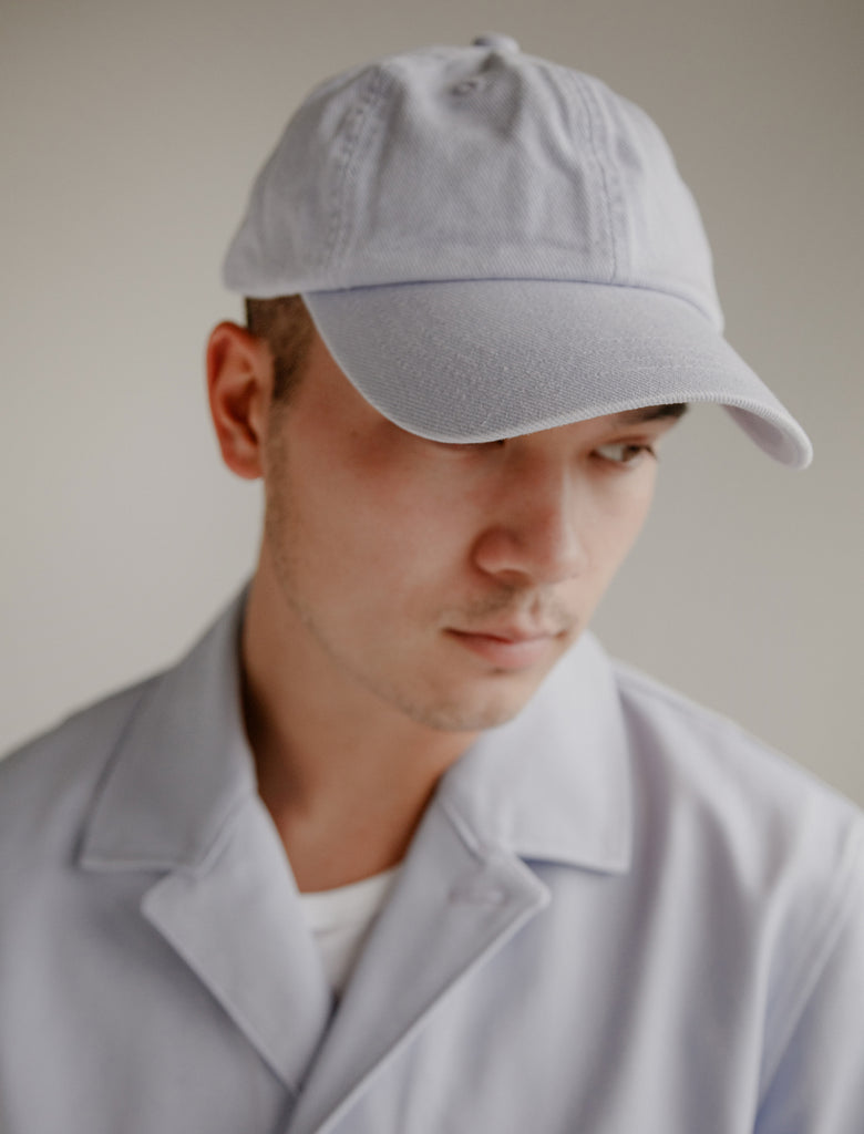 16d738aff8e Acne Studios. Carliy Twill Lilac Cap Available in store only
