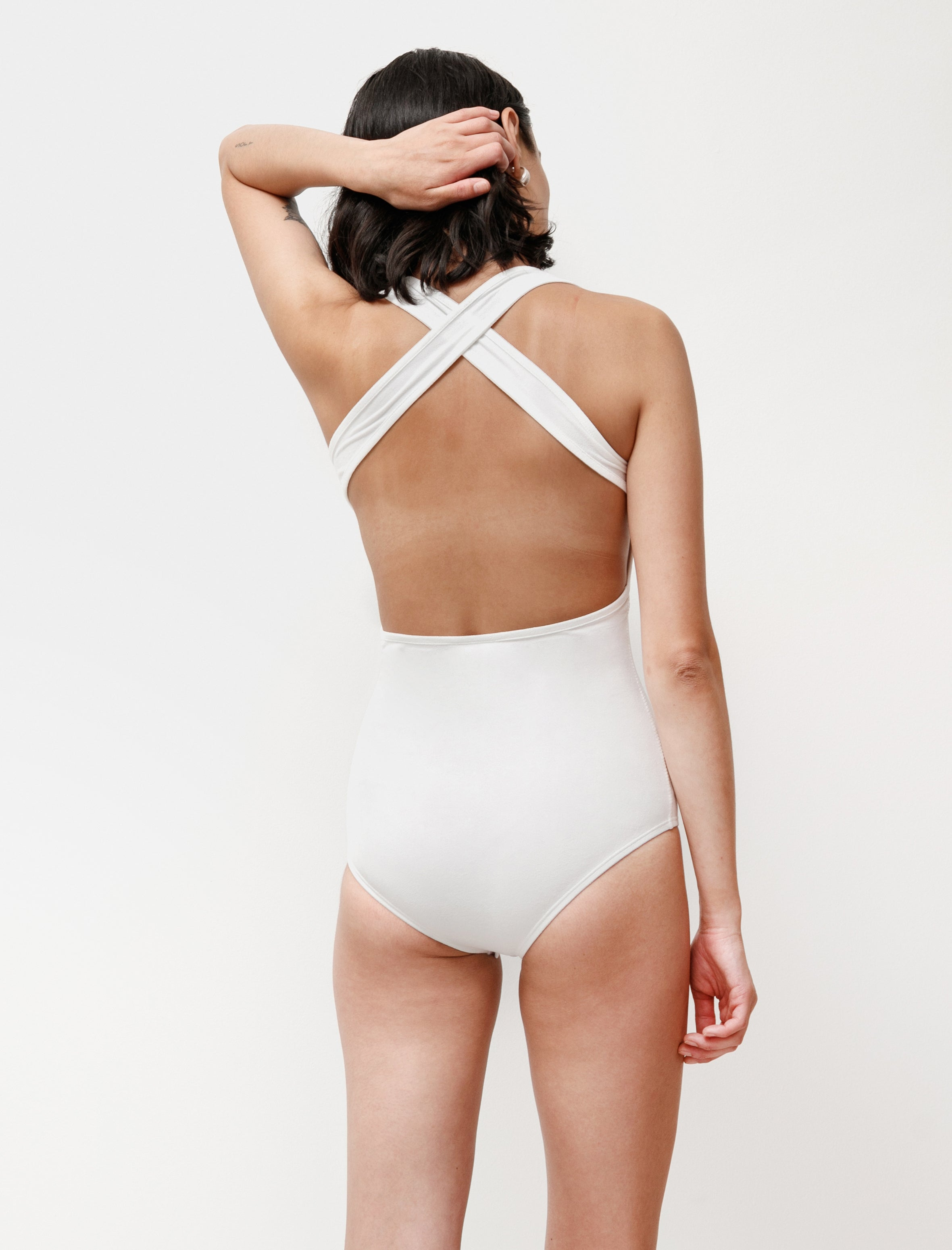 Lemaire Sleeveless Bodysuit Off White