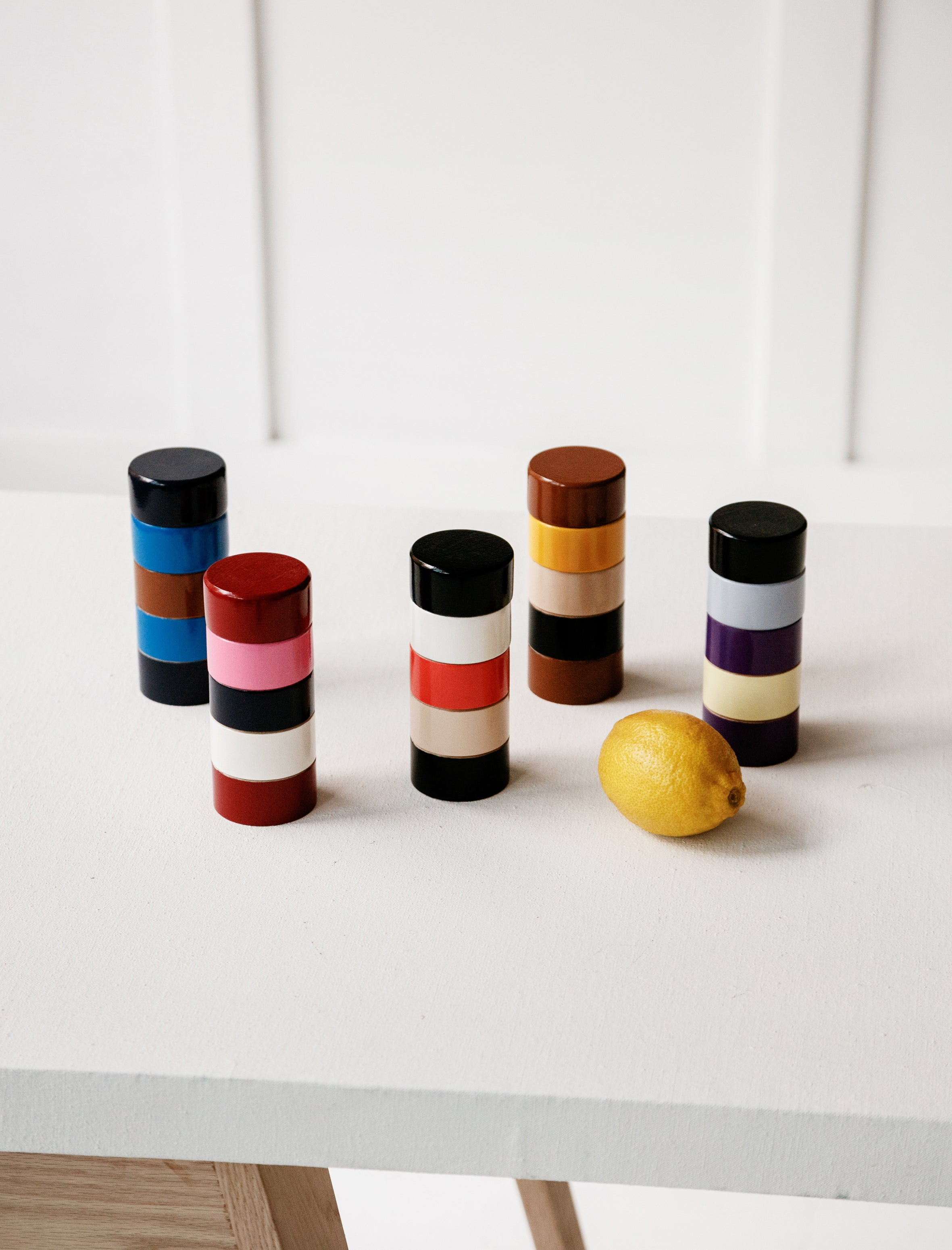 Painted Peppermills