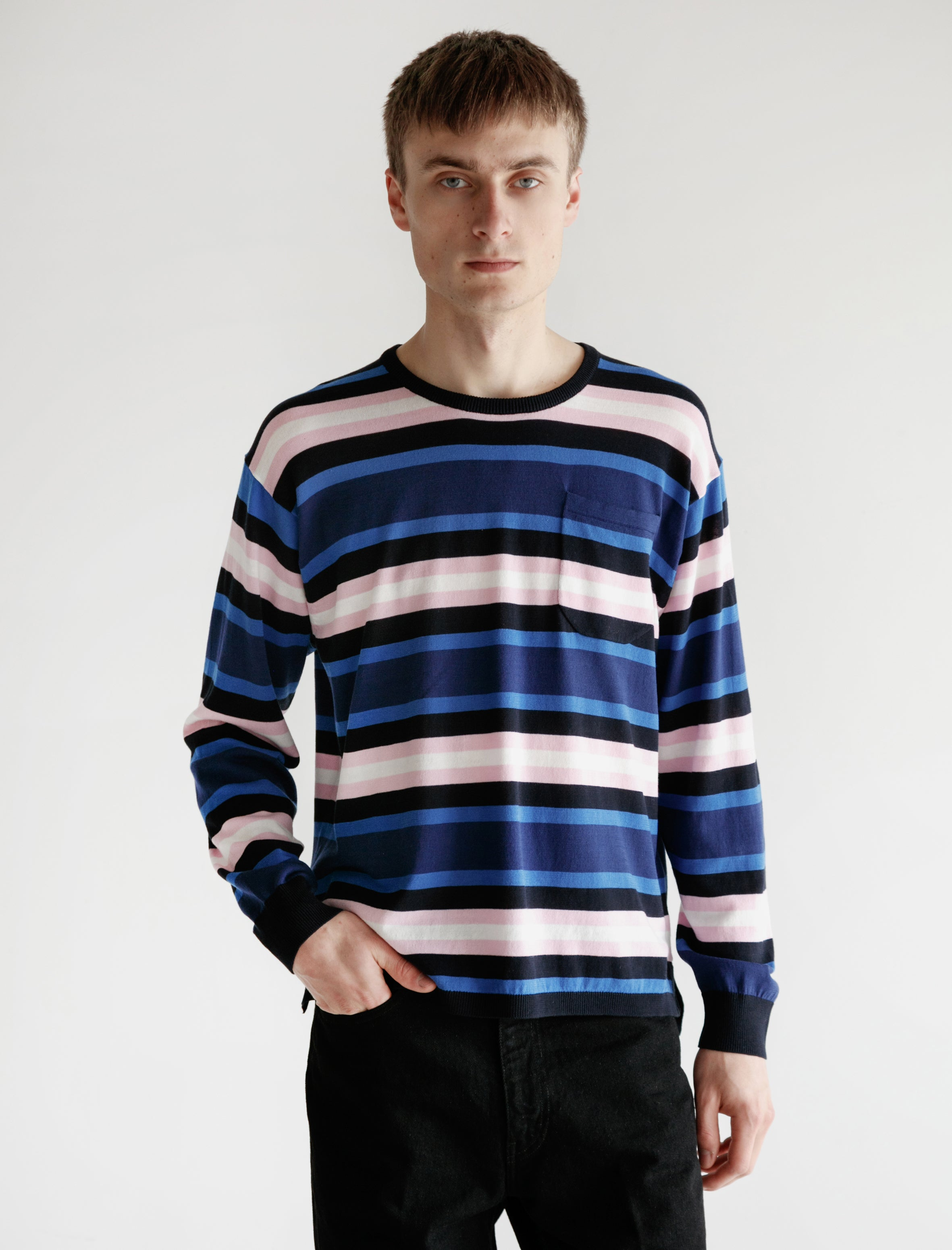 Hennessy Long Sleeve Multi Stripe
